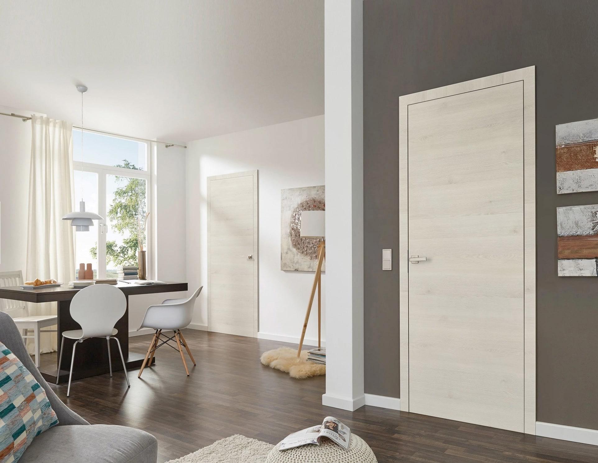 Modern Interior Doors With Laminate Finish