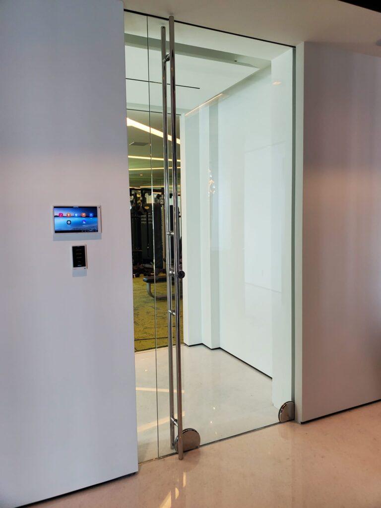 Glass Pocket Door