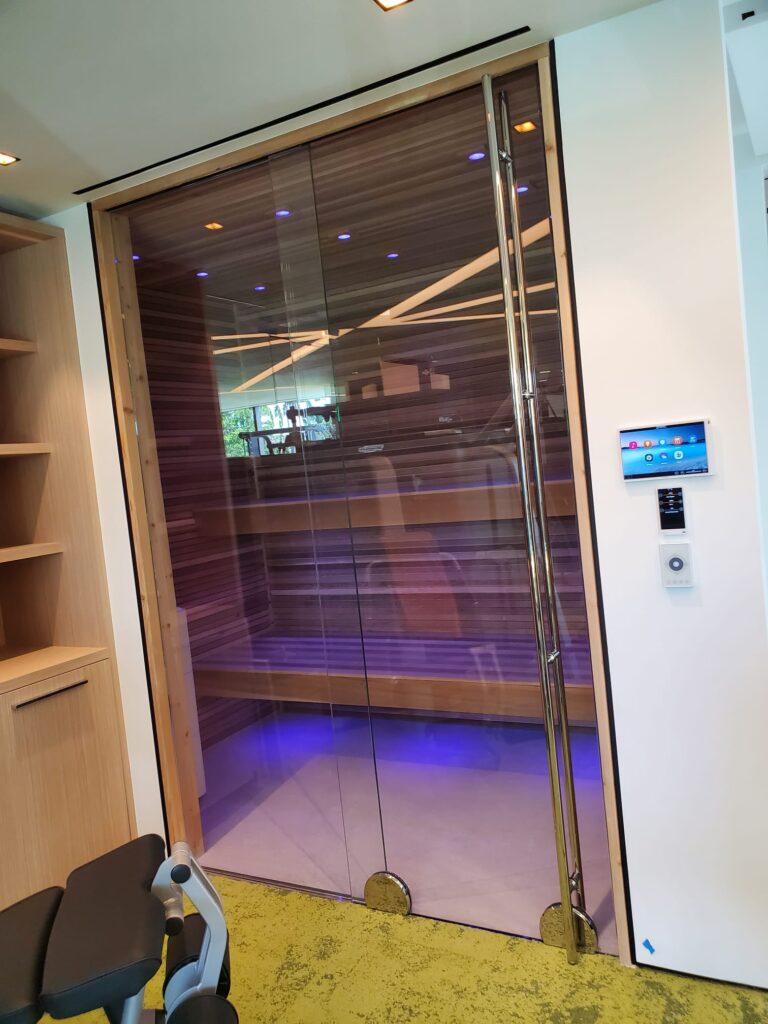 Sauna Entry Door